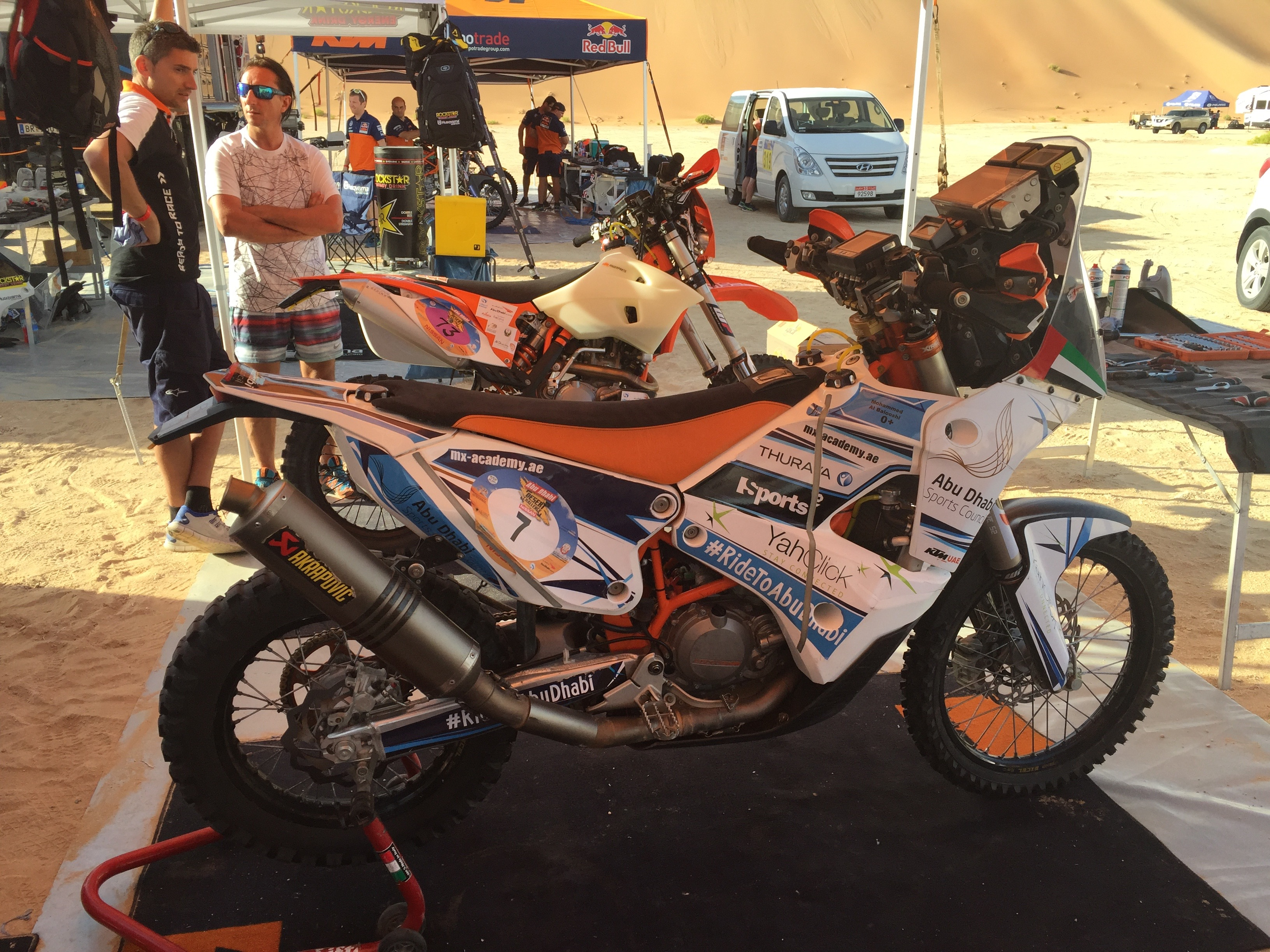 ADDC-2016-mohammed-balooshi-rally-bike-ktm-450-rally-replica