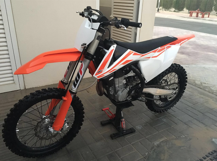 for sale: ktm 450 sx-f 2017 in dubai