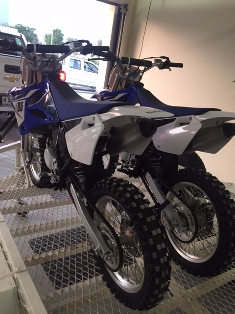 For Sale: Yamaha YZ 85 ( 2 Stroke ) 2014 + Gear + Trailer