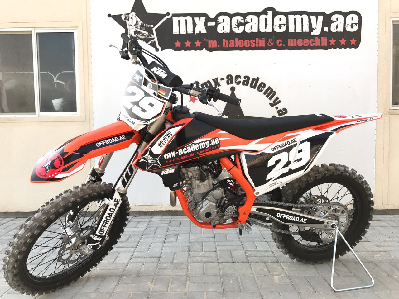 Ktm 250 sx f 2018 with new stickers from 1812